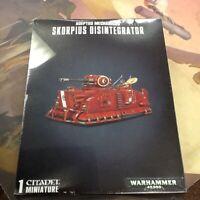 40K Warhammer Adeptus Mechanicus Skorpius Disintegrator NIB
