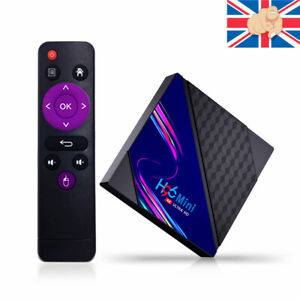4K 16G HD Smart TV Box Android 10.0 Quad Core 8/16GB HD Media Player WIFI HDMI