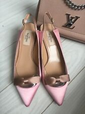 Valentino Shoes Size 3.5 Uk 36.5 Kitten Heels Women