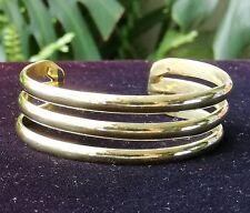 Band Brass Bracelet - 054D1
