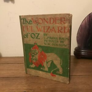 The Wonderful Wizard of Oz, Frank Baum (1900), True First Edition, Binding C