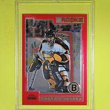 "ANDREW RAYCROFT  ROOKIE  00-01  ""CHROME RED  0688/1250""  #250  Boston Bruins"