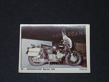 N°38 AERMACCHI SPRINT 350 ITALIA MOTO 2000 PANINI EDITIONS DE LA TOUR 1973