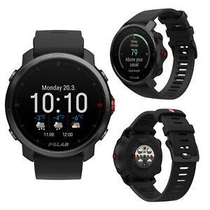 Polar GRIT X Black M/L Smart GPS Running Swimming Cycling Multi Sports Watch