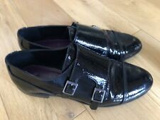 NEXT PATENT BLACK SHOES SIZE 5 Worn Once