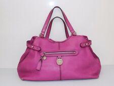 Vintage *MULBERRY* Somerset Tote Fuschia DEEP PINK Leather Shoulder Bag- Genuine