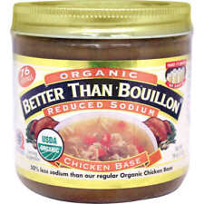 Organic Better Than Bouillon Chicken Base, Reduced Sodium, 16 oz