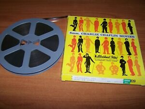 """VAGABOUND THE CHARLIE CHAPLIN & OTHER FILM 8MM B&W ON 7"""" REEL"""