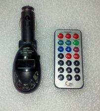 LETTORE MP3 DA AUTO CON INGRESSO USB ED SD + TELECOMANDO