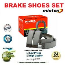 MINTEX BRAKE SHOES for NISSAN MICRA IV 1.6 2014->on