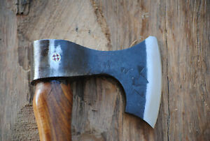 Hand Forged Viking Style Beard Tomahawk Axe / Hatchet