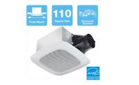 Delta Breez 110 CFM Ceiling Bathroom Exhaust Fan with Bluetooth Speaker Bathrrom