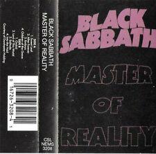 BLACK SABBATH - MASTERS OF REALITY CASSETTE