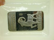 2015 APMEX YEAR OF THE RAM 5 TROY OUNCES 999 PURE SILVER BAR - BEST OFFER!!