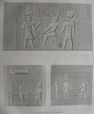 ESNE ( LATOPOLIS). (pl. 82, A. vol. I). Bas reliefs du por..  DESCRIPTION EGYPTE
