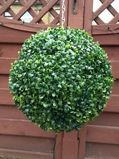 artificial topiary balls x 2 36cm
