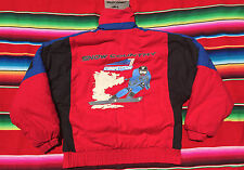 VTG CHORUS Snow Country Competition puffy coat jacket M ski polo hip hop 1990s