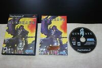 Gungrave (Sony PlayStation 2 - 2002) - Complete & Tested