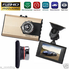 "3"" Night Vision 1080P G-sensor Car DVR Vehicle Camera Video Recorder Dash Cam US"
