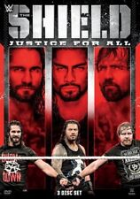 WWE: Shield - Justice For All (DVD,2018)