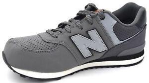 NEW BALANCE BOY SNEAKER SHOES SPORTS CASUAL TRAINERS SYNTHETIC LEATHER KL574YHG