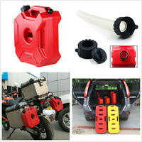 Portable 3L Fuel Tank Jerry Cans Spare Plastic Petrol Tanks For Auto Motorcycle