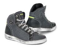Schuhe Sneakers STYLMARTIN Kansas Grau Anthrazit TG.42 Stoff Wasserabweisend