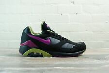 """Nike Lunar Air Max 180 """"Negro Púrpura"""" Size UK 9.5 EU 44.5 nos 10.5"""