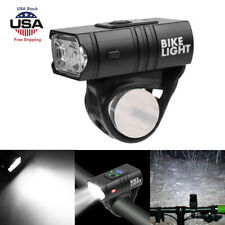 USB Rechargeable MTB Bicycle Cycling Light T6 LED Lamp Bike Front Headlight USA