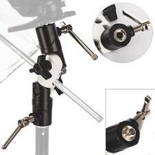 Flash Bracket Hot Shoe Umbrella Holder Mount Light Stand For DSLR Camera U TypeH