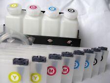 Bulk Continuous Ink Supply System For Mimaki jv33/jv3 /JV5 4 bottles,8 Cartridge