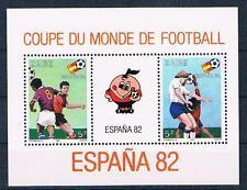 Zaire, fútbol WM 1982, bloque postfr. **