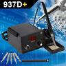937D+ Electric Iron Soldering Station SMD Welder Welding & Stand Sponge ESD 110V
