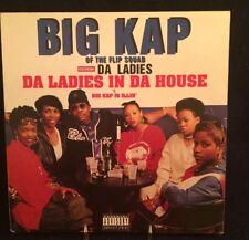 """BIG KAP ft. LAURYN HILL- """"DA LADIES IN DA HOUSE"""" -12""""SINGLE, TOMMY BOY # TB-691B"""