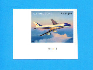 USA - Scott 4144 - VFMNH S/A plate # - $4.50 Priority Mail - Air Force 1 - 2007