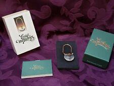 Swarovski Crystal Memories Purse & Strap Gold Figurine 9460 Box Retired