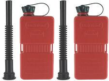 FUELFRIEND-PLUS 1,5 Liter Klein-Benzinkanister Mini-Reservekanister mit Füllrohr
