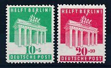 Ungeprüfte postfrische Briefmarken aus der US - & britischen Zone (ab 1945)