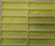 FACE Bricks Set Of 2 Polyurethane 3D Mould Cladding Self MANUFACTURE ROMAN 0.2m2
