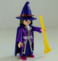 Playmobil Witch Figure With Broomstick