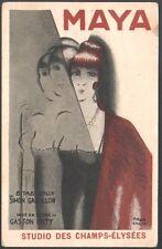 Paul Colin. pièce de théâtre Maya jouée au Studio des Champs-Elysées. 1927