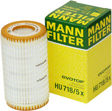Mann-Filter HU718/5X Oil Filter OEM - Made in Germany, fits Mercedes-Benz