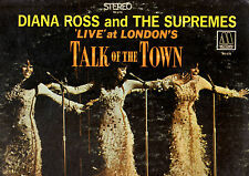 MOTOWN.SUPREMES.'LIVE' AT LONDON'S TALK OF THE TOWN.ORIG U.S.STEREO LP.VG+/VG