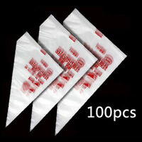 100pcs New Disposable Pastry Bag Icing Piping Cake Pastry Cupcake Decor Bag Hot