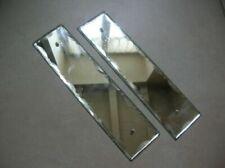 Portes anciennes et serrurerie plaques en verre