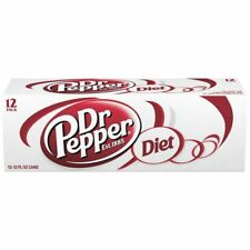 Diet Dr Pepper 12 oz Cans (Pack of 12)