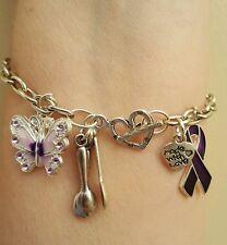 Fibromyalgia/Lupus Awareness Bracelet
