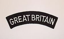 ROYAL AIR FORCE EMBROIDERED GREAT BRITAIN SHOULDER TITLE