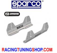 SPARCO STAFFE UNIVERSALI SEDILI RACING ALLUMINIO aluminium brackets frames