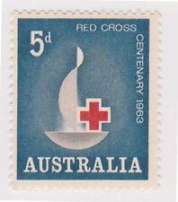 (OS-129) 1963 AU 5d Red Cross MUH SG351 (F)